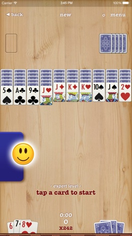 Spider ▻ Solitaire + screenshot for iPhone
