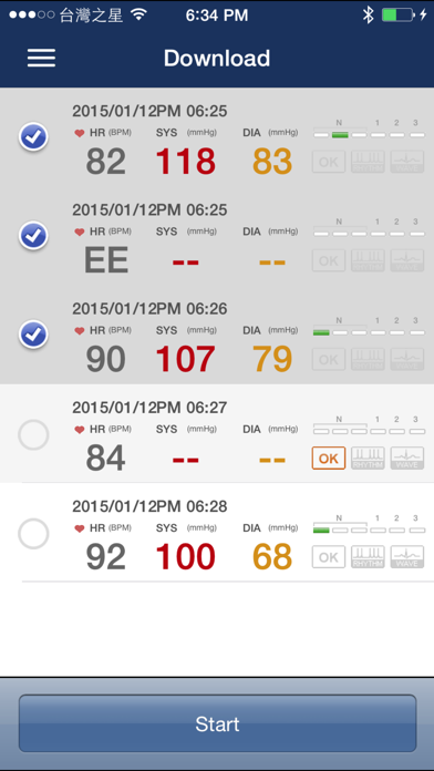 iBP Monitor screenshot two