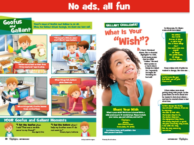 Highlights Magazine: Fun Reading for Children