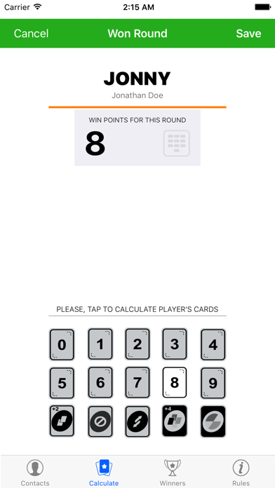 UNOWin App for UNO Card Game screenshot two