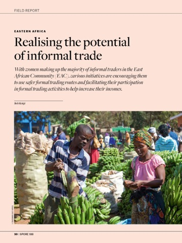ctaの agricultural trade transforming the informal economy を