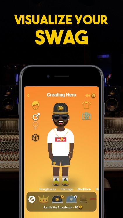 Rap Fame on Battle Me Studio screenshot-3