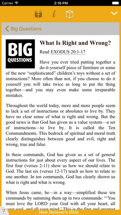 New Believer's Bible screenshot-4