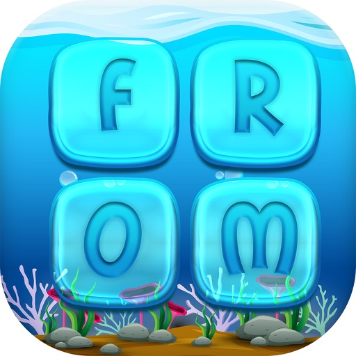 Sea World Words puzzle Swipe