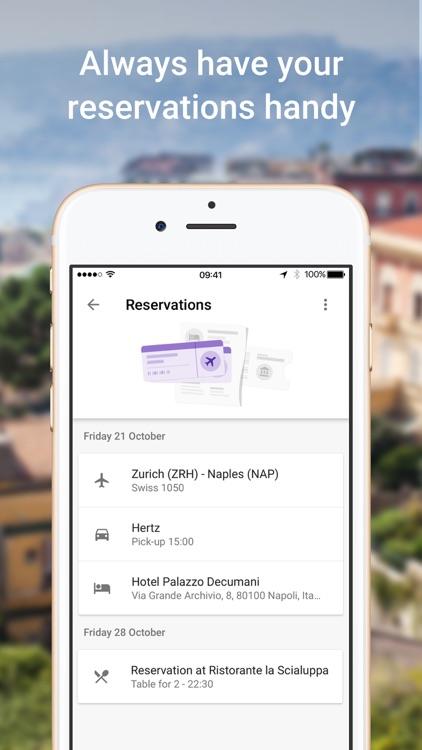 Google Trips – Travel planner screenshot-3
