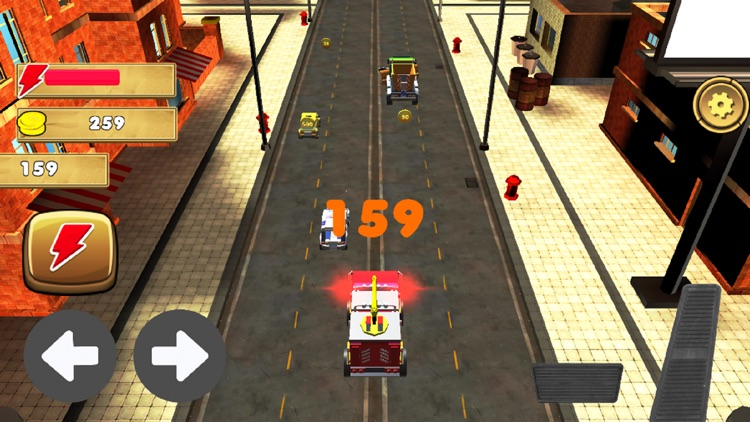 Toy Car Traffic Racing 2018 screenshot-4