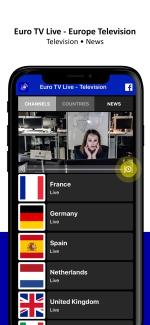 Euro TV Live - Television on the App Store