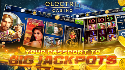 Electri5 Casino Slots! screenshot one
