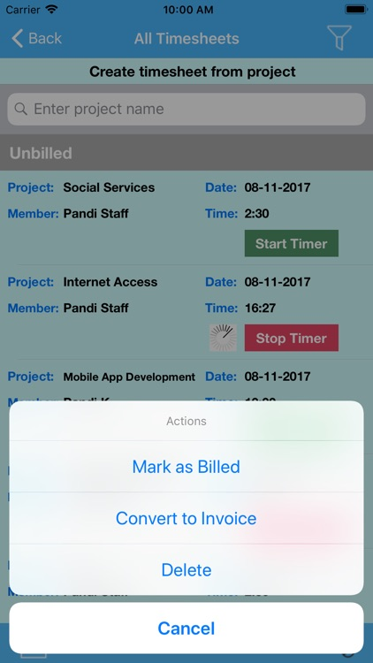 Time Management App screenshot-3