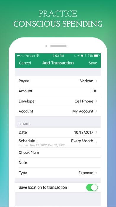 Goodbudget Budget Planner Screenshot