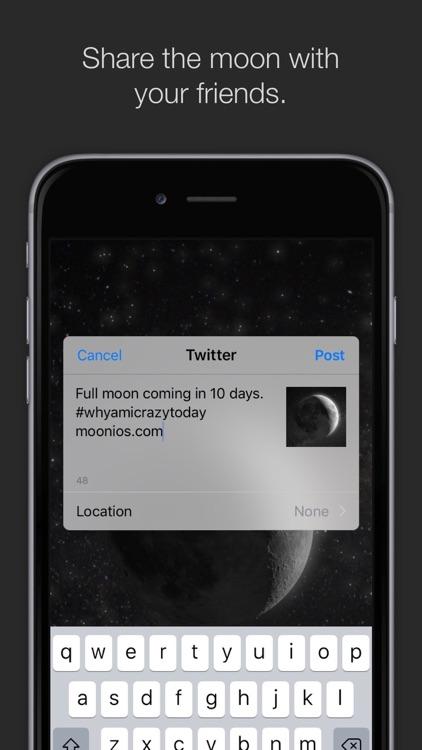 MOON - Current Moon Phase screenshot-3