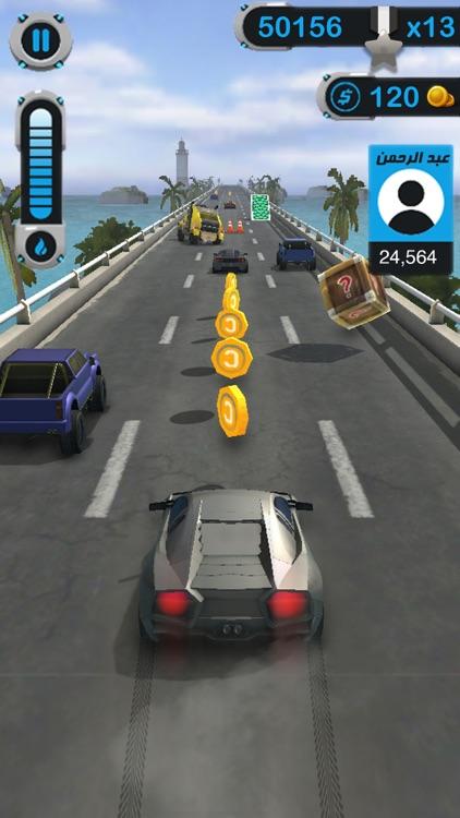 السباق - لعبة سيارات السرعة