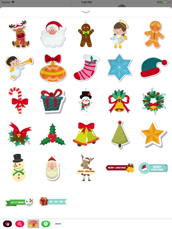 Cute XMAS Sticker screenshot 4