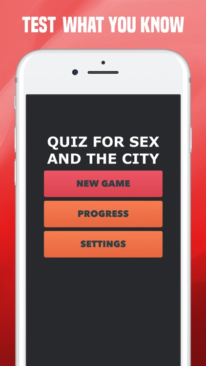 Sex and the city app