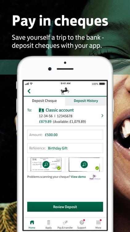 Lloyds Bank Mobile Banking screenshot-0