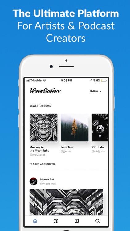WaveStation-Discover New Music screenshot-0