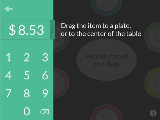 Plates by Splitwise – split dinner bills with ease screenshot