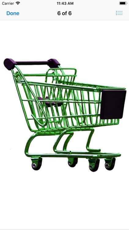 Shopping Cart Stickers screenshot-8