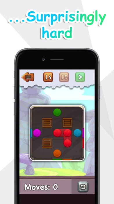 Balls to the Wall - a sliding puzzle screenshot 3