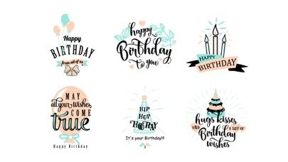 Happy Birthday Stickers WishesScreenshot of 3