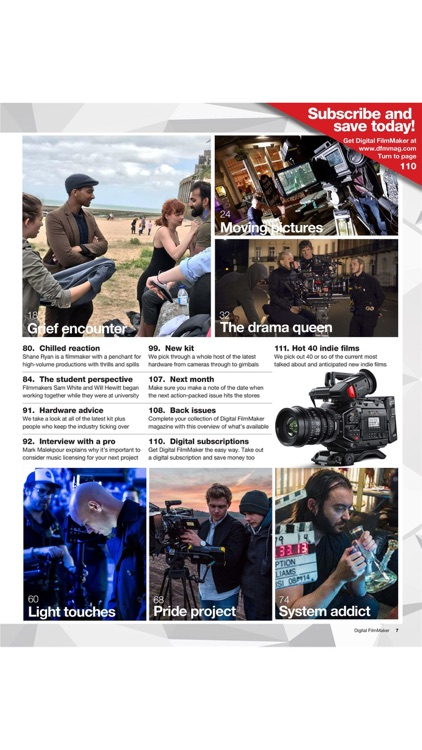 Digital FilmMaker Magazine screenshot-3