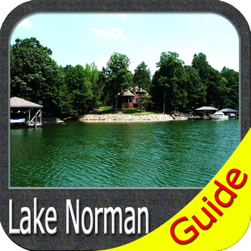 Lake Norman North Carolina GPS fishing charts