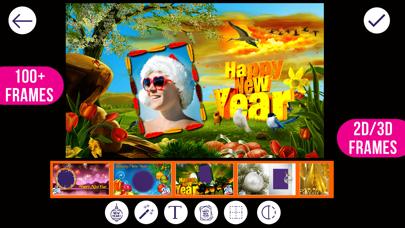 New Year Photo Frames screenshot two