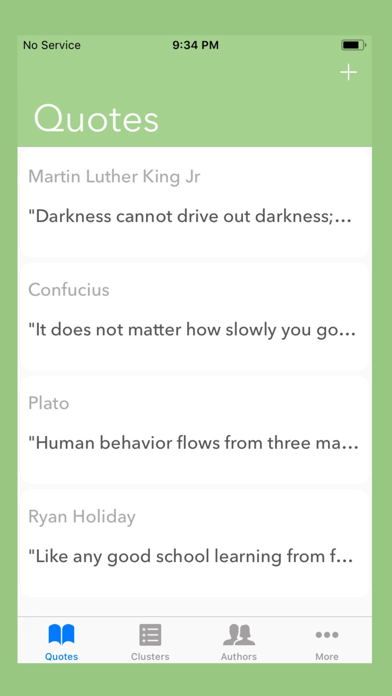 QuoteBook - Quote Journal screenshot one