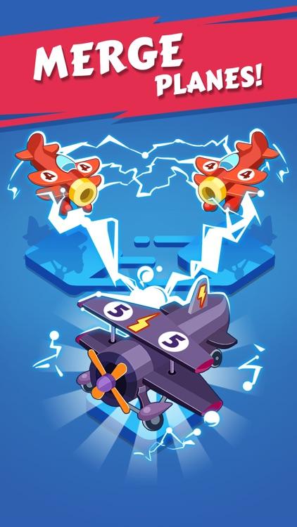 Merge Plane - Best Idle Game screenshot-3