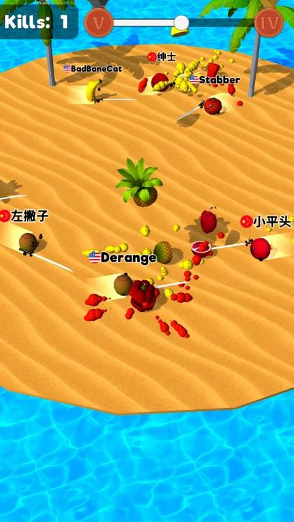 Sliced.io: Juicy Fruit Arena screenshot-0
