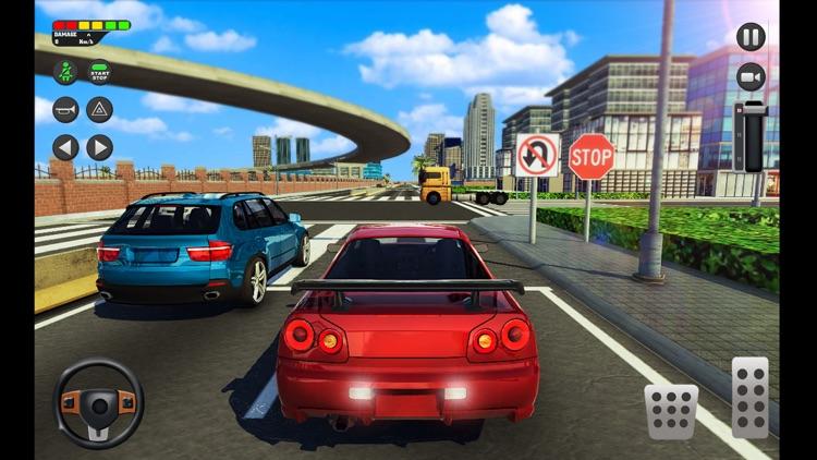 City Car Driving School Sim 3D screenshot-3