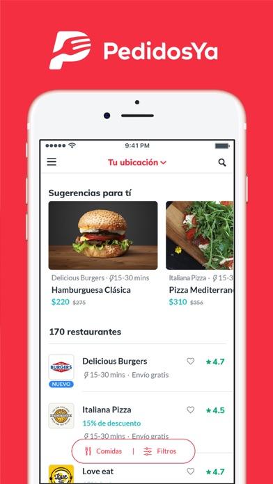screenshot 8 for pedidosya food delivery