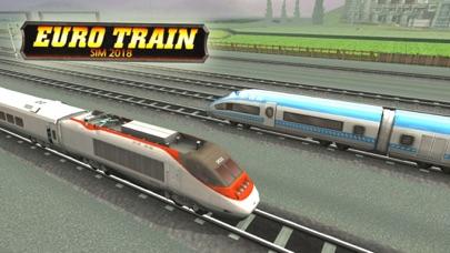 Subway Euro Train Sim 2018 screenshot one