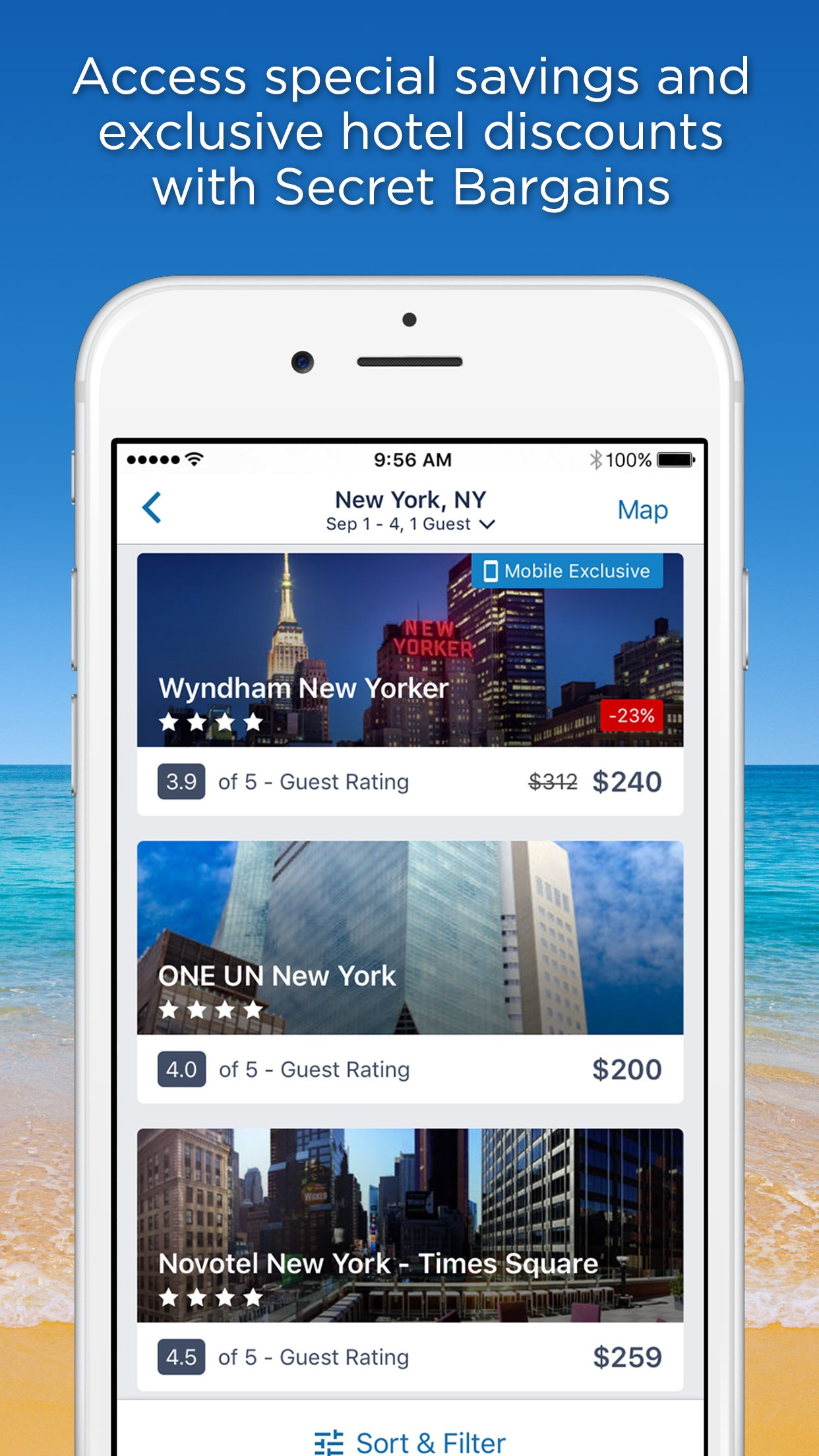 CheapTickets Hotels & Flights Screenshot