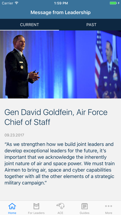 Air Force Leaders screenshot one