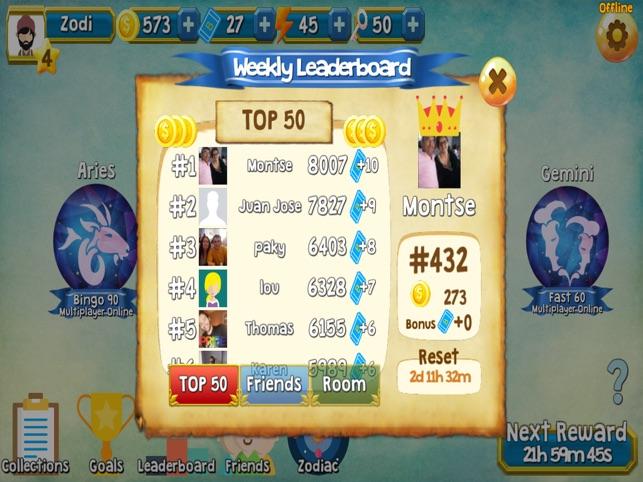 Zodi Bingo on the App Store