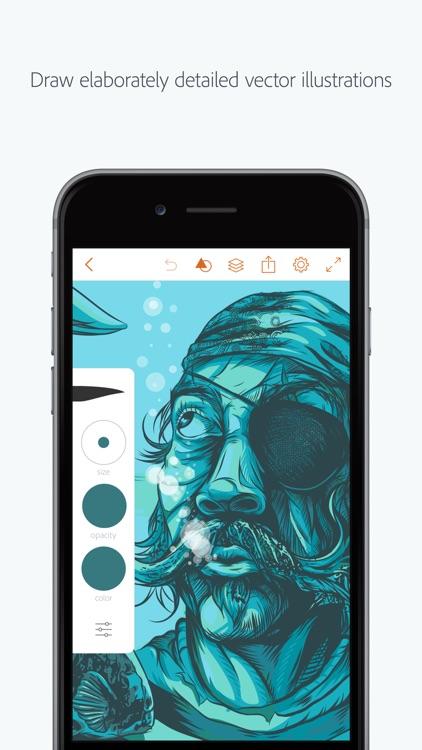 Adobe Illustrator Draw screenshot-0
