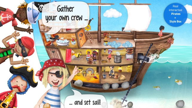 ‎Tiny Pirates: Toddler's App