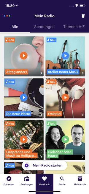 Dlf Audiothek Screenshot