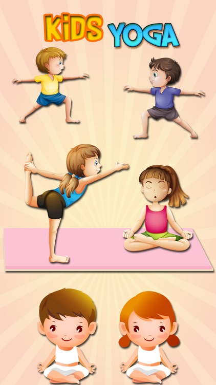 Kids Yoga Stickers & Emoji