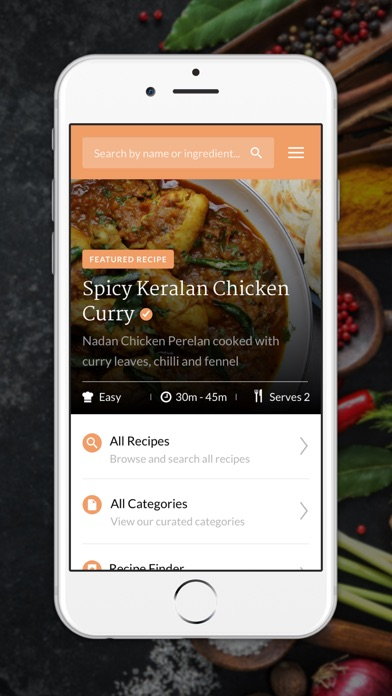 Screenshot for Maunika's Indian Recipes in Lebanon App Store