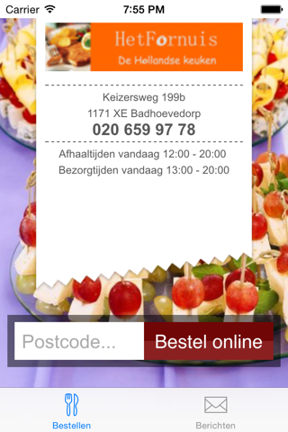 Het Fornuis Catering - náhled