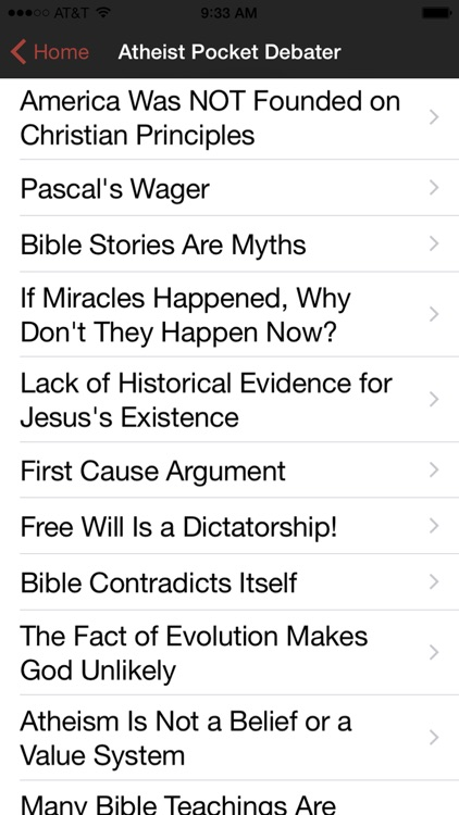 Atheist Pocket Debater screenshot-2