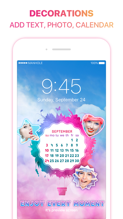 Magic Screen - Customize your Lock & Home Screen Wallpaper screenshot