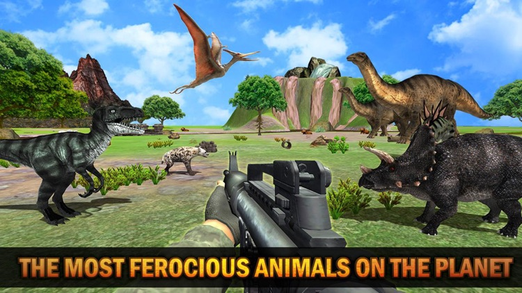 Dinosaur Hunt Jurrasic screenshot-6