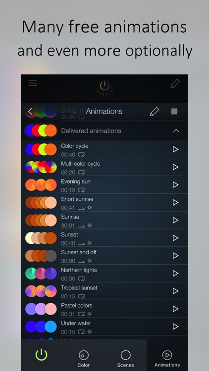 iConnectHue for Philips Hue lights screenshot-3