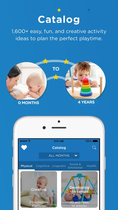 Screenshot for Kinedu: Baby Development App in United States App Store