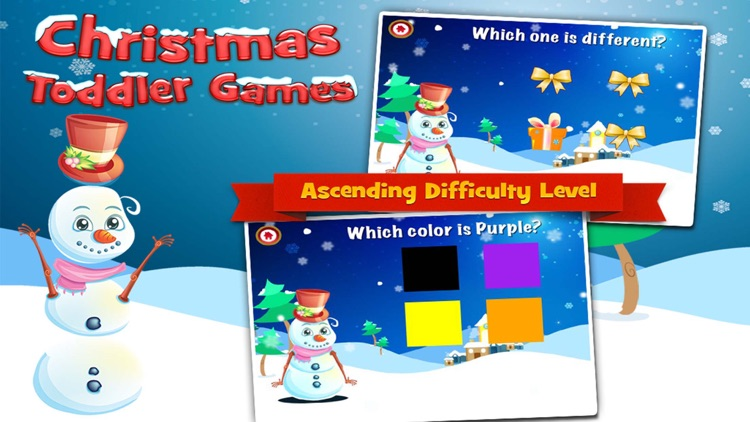 Christmas Games for Toddlers
