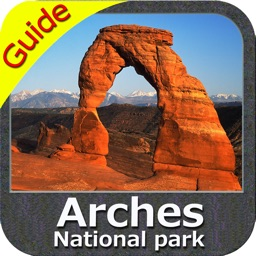 Arches National Park GPS Chart