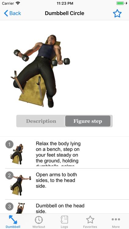 The Dumbbell Workout screenshot-4